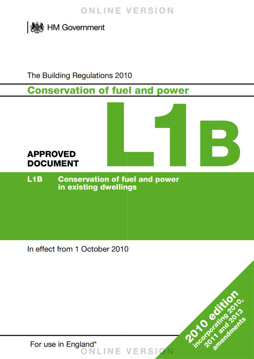 Building Regulations L1B 2015
